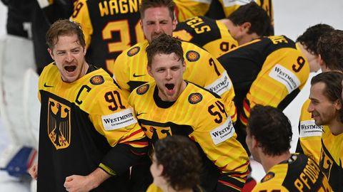 Drei Spiele, drei Siege: die deutsche Eishockey-Nationalmannschaft begeistert sich und die Fans