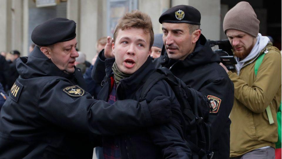 Verhaftung Roman Protassewitsch