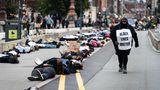 """Black Lives Matter""-Proteste in Kopenhagen, Dänemark"