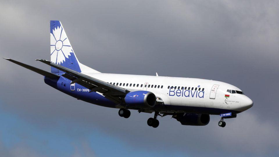Auf den Europastrecken mit höherem Passagieraufkommen kommteineBoeing 737 zum Einsatz