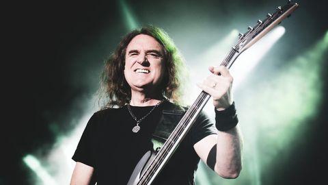David Ellefson, Bassist der Band Megadeth