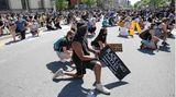 """Eine """"Black Lives Matter""""-Demonstration im kanadischen Ottawa"""