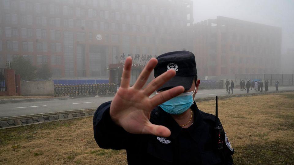 Virologisches Istitut von Wuhan