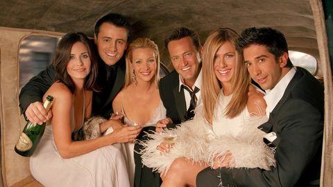 """Die sechs Hauptdarsteller der Serie """"Friends"""""""