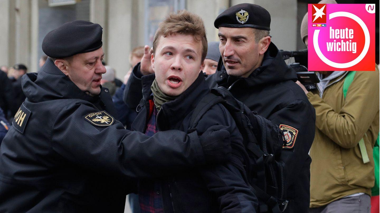 Roman Protasewitsch wird verhaftet