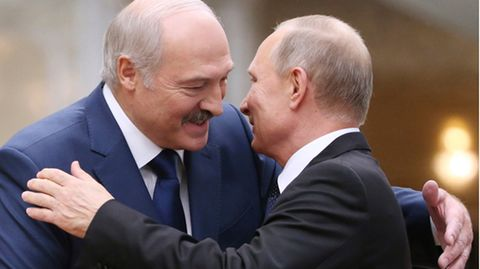 Lukaschenko und Putin