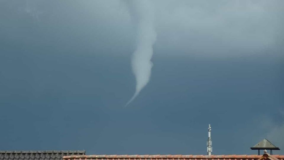 Tornado über Borken