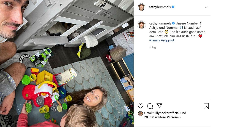 Vip News: Seltener Familienschnappschuss von Cathy und Mats Hummels