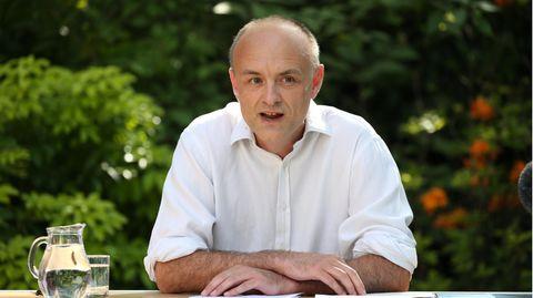 Der Berater des britischen Premierministers Johnson, Dominic Cummings