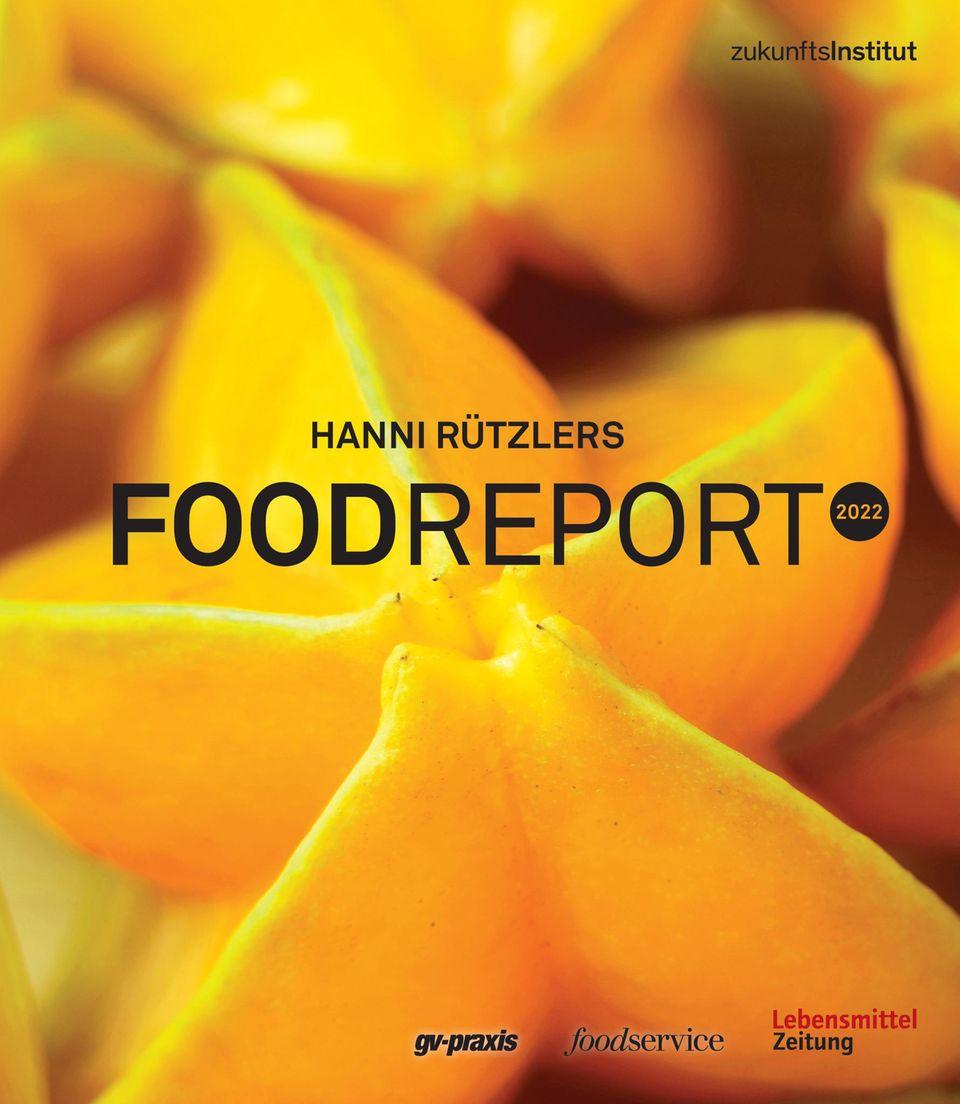 Wenn Sie mehr über aktuelle Foodtrends erfahren möchten, lesen Sie in Hanni Rützlers Foodreport 2022. Herausgeber ist das Zukunftsinstitut in Kooperation mit den Fachmedien Lebensmittel Zeitung, gv-praxis und foodservice. Hier für 150 Euro erhältlich.