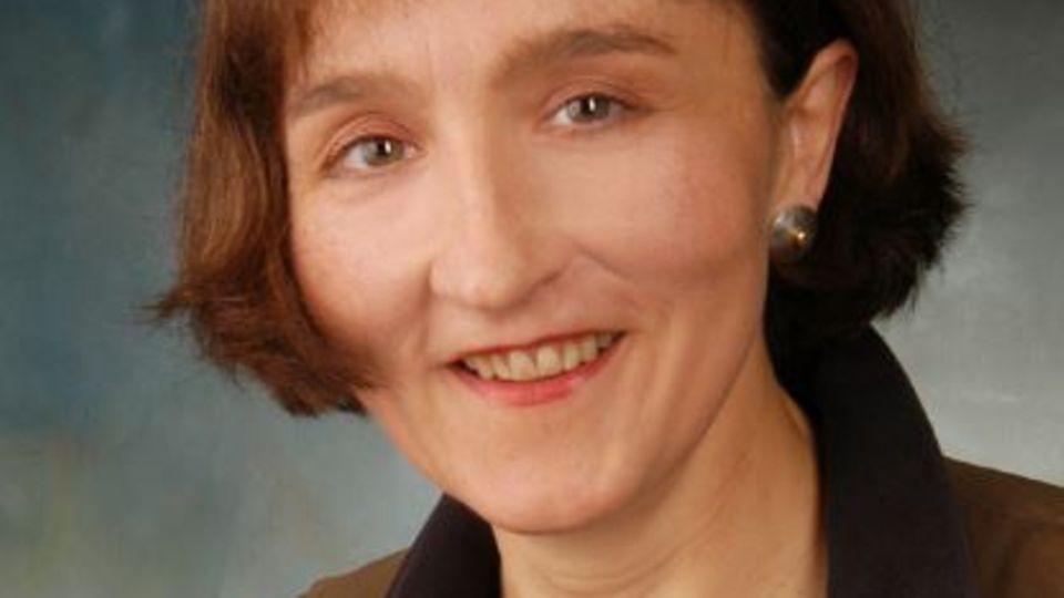 Die Leiterin der Kinder- und Jugendpsychiatrie Frau Dr. Bindt
