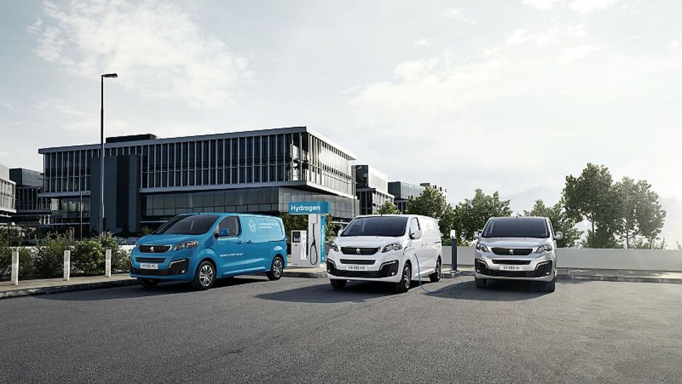 Peugeot Expert Hydrogen