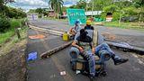 Cali, Kolumbien. Diese Straße gehört zur Panamericana, die berühmte Schnellstraße, die von Alaska nach Feuerland führt. Sie wird derzeit von Demonstranten blockiert, die gegen die Regierung vonPräsident Ivan Duque protestieren. Eine geplante Steuerreform hat die Menschen aufgebracht und zu zahlreichen Zusammenstößen mit der Polizei geführt. Mehr als 40 Menschen sind dabei bereits ums Leben gekommen.