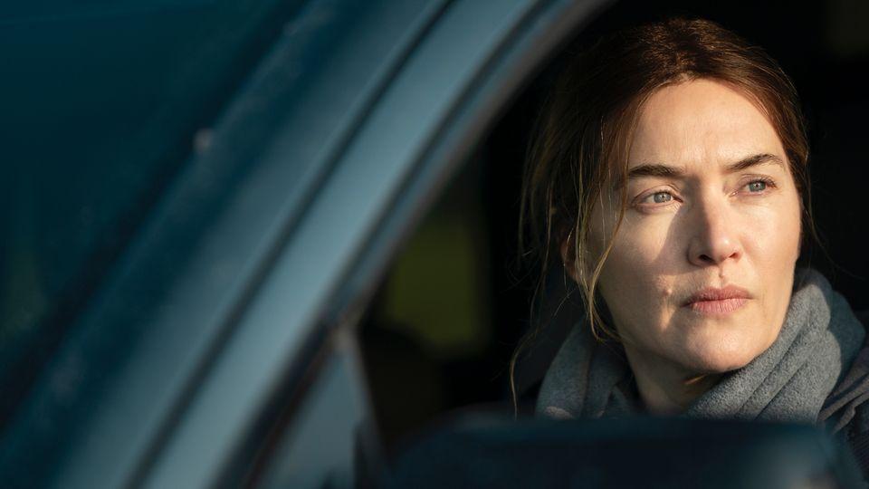 "Kate Winslet als Kommissarin in ""Mare of Easttown"""