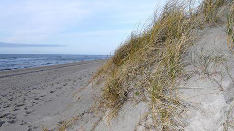 Ein Strand auf Sylt steht zum Verkauf