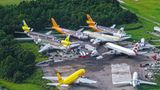 Orlando Stanford in Florida  Anders als im trockenen Südwesten der USA herrscht in Florida feucht-heißes Klima, das den Flugzeugen zusetzt. Die Rümpfe der Frachtflugzeuge südamerikanischer Airlines verrotten bereits.