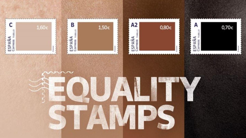 "Das Briefmarkenset ""Equality Stamps"""