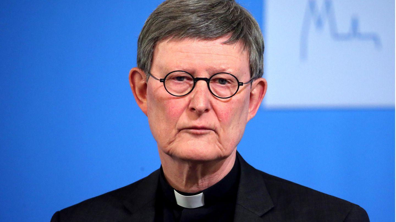 Kardinal Rainer Marika Woelki blickt ernst