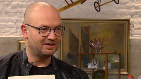 """Sven Deutschmanek ist einer der Experten bei """"Bares für Rares""""."""