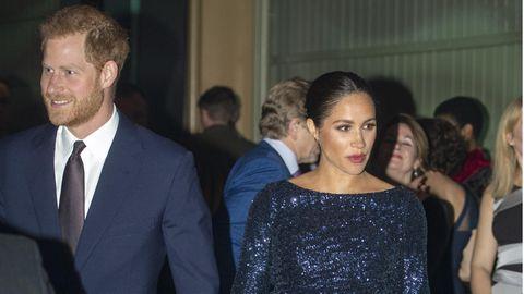 Prinz Harry und Herzogin Meghan 2019 in der Royal Albert Hall