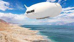 Der Airlander kann überall fliegen, die Geräuschentiwcklung ist minimal.