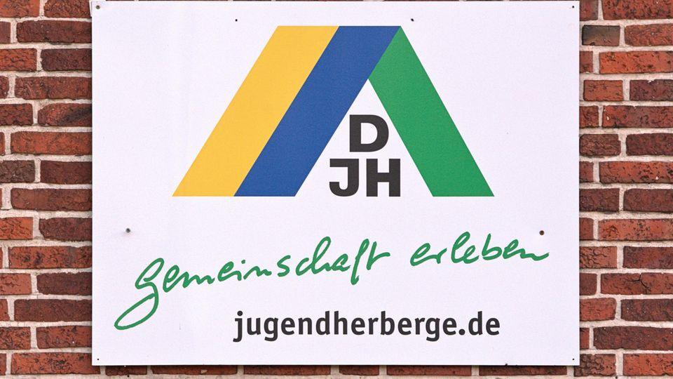 Das Logo des Deutschen Jugendherbergswerks (DJH)