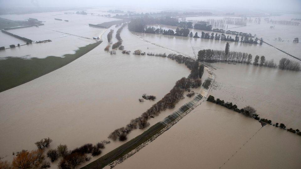 Neuseeland: Große Überschwemmungen – Hunderte müssen evakuiert werden