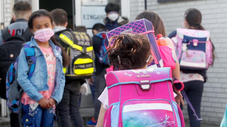 Schüler in Deutschland haben wieder Präsenzunterricht.