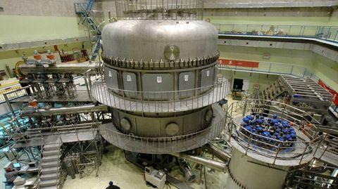 Der EAST-Reaktor ist Teil des internationalen ITER-Projekts.