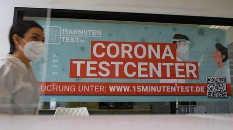 Corona-Testcenter