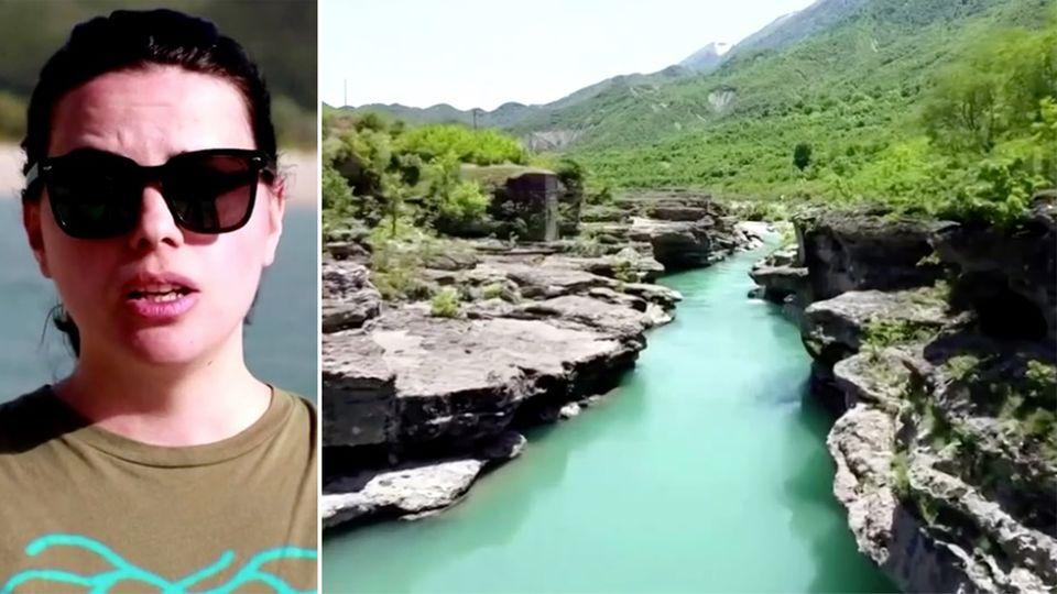 Albanien: Umweltschützer kämpfen für einzigartigen Wildfluss – und gegen ein Wasserkraft-Projekt der Regierung