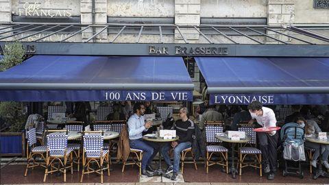 Die Außengastronomie ist in Frankreich seit 19. Mai wieder geöffnet