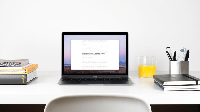 Die Scheib-App Ulysses soll helfen, sich besser auf die Arbeit zu konzentrieren.
