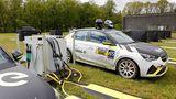 Opel bringt mobile Ladestationen mit zur e-Rallye