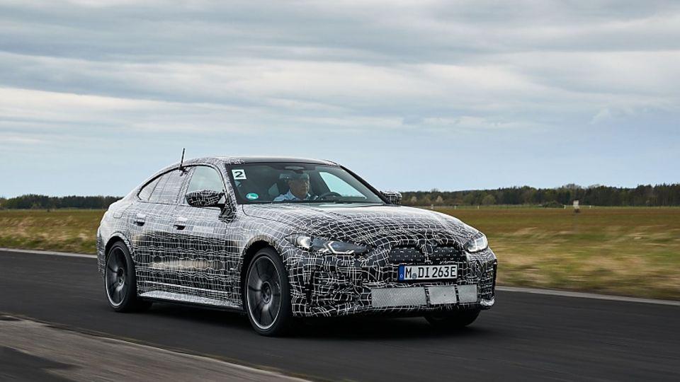 Der BMW i4 M50 ist bis zu 225 km/h schnell