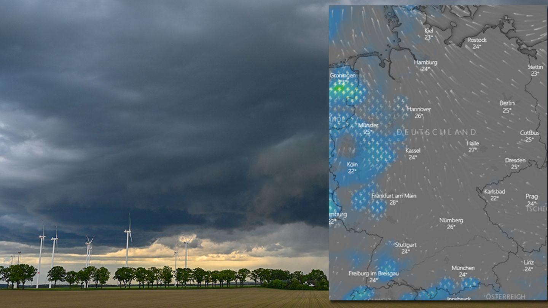 Gewitter Unwetter NRW