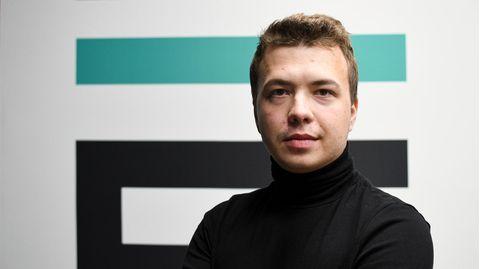 Der belarussische Journalist und Regierungskritiker Roman Protassewitsch