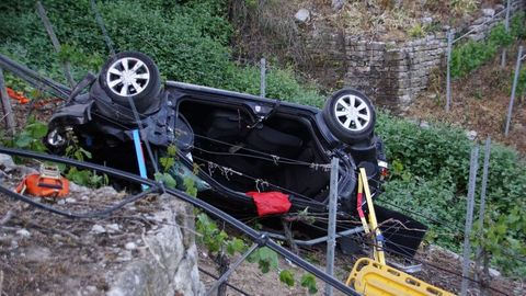 In Baden-Württemberg ist ein Autofahrer bei einem Wendemanöver tödlich verunglückt.