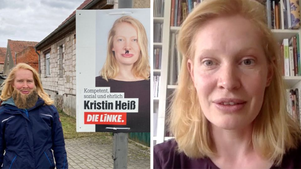 Vollbart statt Hitlerbärtchen: Landespolitikerin erzählt, wie sie mit Hass umgeht