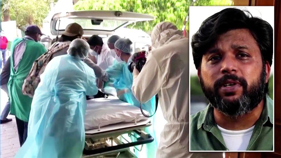 "Corona-Hotspot Indien: Augenzeuge berichtet – ""Es herrschte das reinste Chaos"""