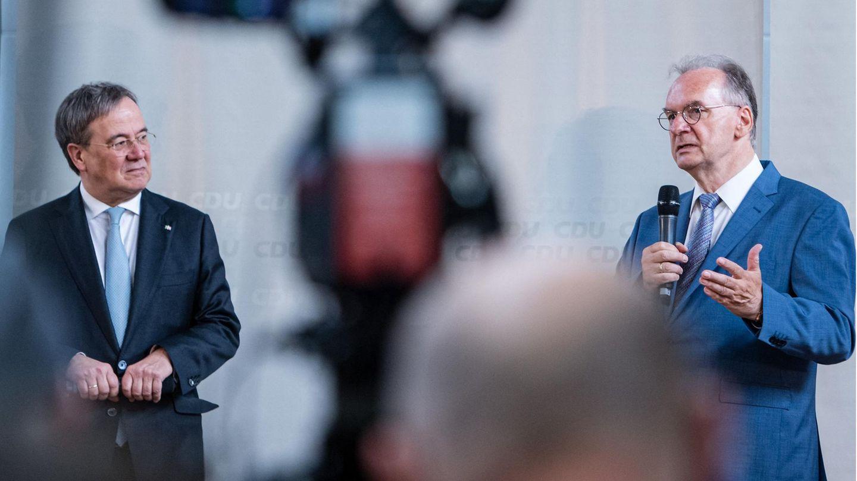 Armin Laschet und Reiner Haseloff (beide CDU)