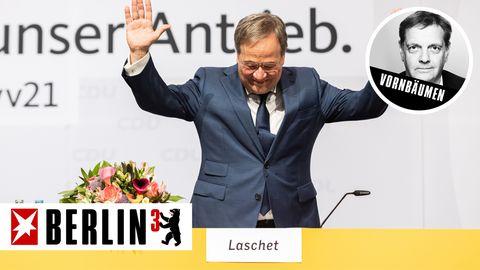 Berlin hoch drei Laschet