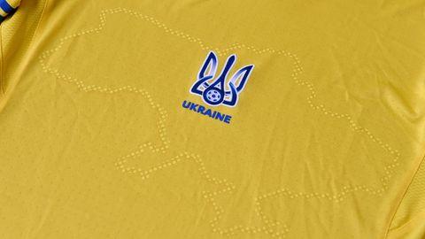 Das Trikot der ukrainischen Fußballnationalmannschaft für die Euro 202