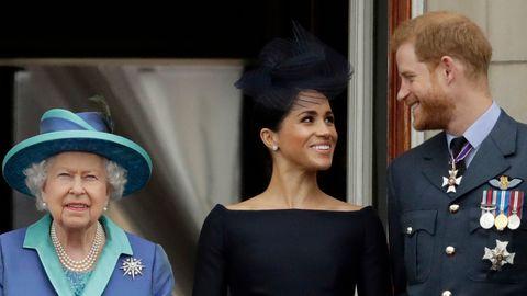 Meghan, Harry, Queen