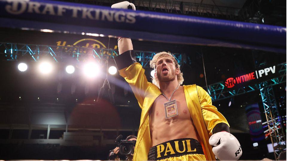 Youtuber Logan Paul betritt den Box-Ring