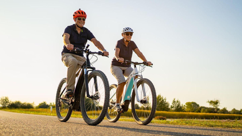 Auf dem Fahrrad fühlt sich das Leben leichter an