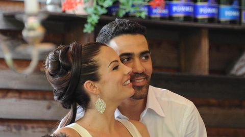 Bushido und Anna-Maria Ferchichi bei ihrer Hochzeit im Jahr 2012