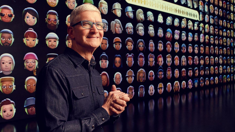 Apple-Chef Tim Cook hielöt sich bei der Eröffnungs-Keynote zur WWDC 2021 weitgehend zurück