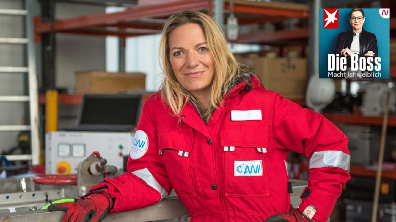 """Podcast """"Die Boss"""": Meeresbiologin Antje Boetius"""