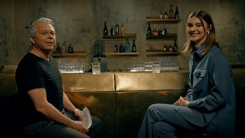 "Model Stefanie Giesinger im ""Bar-Talk"" mit Markus Kavka"